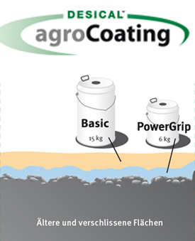 DESICAL agroCoating Powergrip EP-Grundierung Blechdose a 6 kg